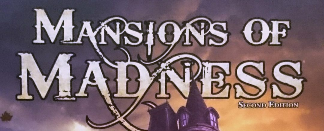 Mansions of Madness Second Edition Unboxing