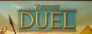 7 Wonders Duel board game logo cropped Nights Around a Table