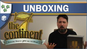 Nights Around a Table 7th Continent unboxing video thumbnail
