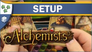 Nights Around a Table Alchemists board game setup guide video thumbnail