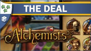 Nights Around a Table Alchemists board game The Deal video thumbnail
