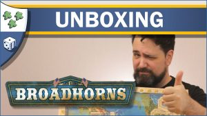 Nights Around a Table Broadhorns: Early Trade on the Mississippi board game unboxing video thumbnail