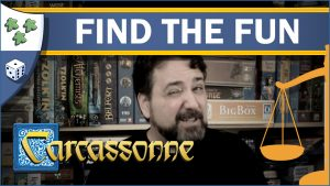 Nights Around a Table Carcassonne: Find the Fun board game review video thumbnail