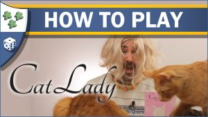 Nights Around a Table How to Play Cat Lady board game video thumbnail