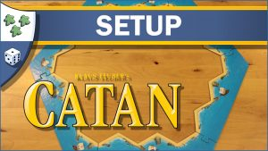 Nights Around a Table How to Set Up The Settlers of Catan board game video thumbnail