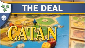 Nights Around a Table The Settlers of Catan: The Deal board game video thumbnail