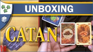 Nights Around a Table Settlers of Catan board game unboxing video thumbnail
