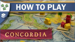 Nights Around a Table How to Play Concordia board game video thumbnail