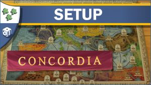 Nights Around a Table How to Set Up Concordia board game video thumbnail