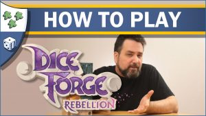 Nights Around a Table How to Play Dice Forge Rebellion board game video thumbnail