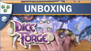 Nights Around a Table Dice Forge unboxing video thumbnail