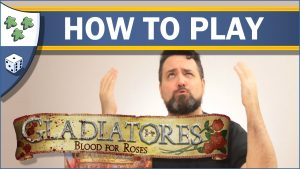 Nights Around a Table How to Play Gladiatores: Blood for Roses board game video thumbnail