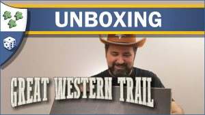 Nights Around a Table Great Western Trail board game unboxing video thumbnail