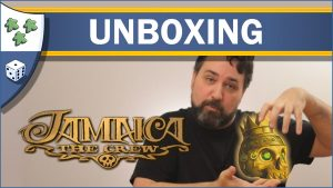 Nights Around a Table Jamaica: The Crew board game unboxing video thumbnail