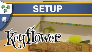 Nights Around a Table How to Set Up Keyflower board game video thumbnail