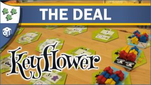 Nights Around a Table Keyflower board game The Deal video thumbnail