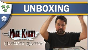 Nights Around a Table Mage Knight Ultimate Edition board game unboxing video thumbnail
