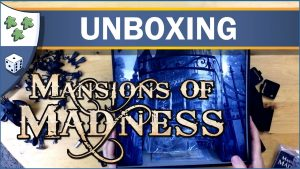 Nights Around a Table Mansions of Madness board game unboxing video thumbnail
