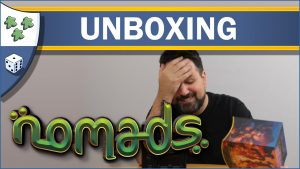 Nights Around a Table Nomads board game unboxing video thumbnail