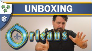 Nights Around a Table Orleans board game unboxing video thumbnail