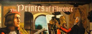The Princes of Florence board game title cropped Rio Grande Games Nights Around a Table