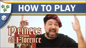 Nights Around a Table How to Play The Princes of Florence board game video thumbnail