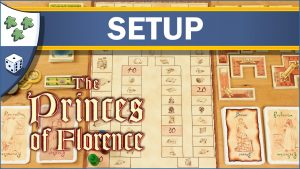 Nights Around a Table How to Set Up The Princes of Florence board game video thumbnail