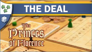 Nights Around a Table The Princes of Florence board game The Deal video thumbnail