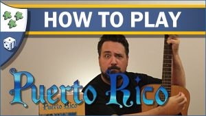 Nights Around a Table How to Play Puerto Rico board game video thumbnail