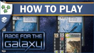 Nights Around a Table How to Play Race for the Galaxy board game video thumbnail