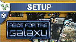 Nights Around a Table How to Set Up Race for the Galaxy board game video thumbnail