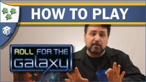Nights Around a Table How to Play Roll for the Galaxy board game video thumbnail