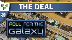 Nights Around a Table Roll for the Galaxy board game The Deal video thumbnail