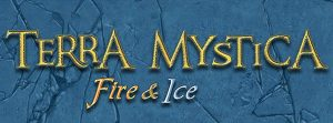 Terra Mystica: Fire & Ice board game expansion logo cropped Z-Man Games Nights Around a Table