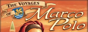 The Voyages of Marco Polo board game logo cropped Z-Man Games Nights Around a Table