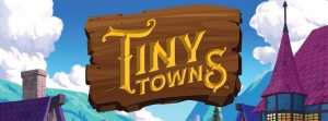 Tiny Towns board game logo cropped AEG Alderac Entertainment Group Nights Around a Table