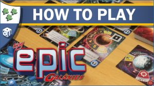 Nights Around a Table How to Play Tiny Epic Galaxies board game video thumbnail
