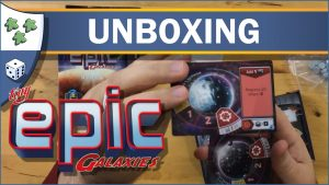 Nights Around a Table Tiny Epic Galaxies board game unboxing video thumbnail