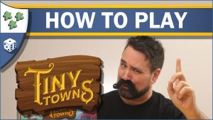 Nights Around a Table How to Play Tiny Towns board game video thumbnail