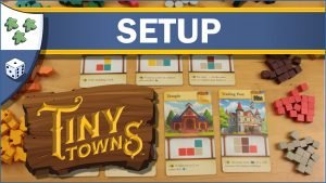 Nights Around a Table How to Set Up Tiny Towns board game video thumbnail