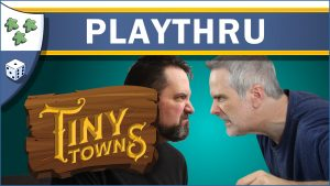 Nights Around a Table Tiny Towns board game Ryan vs. Rahdo playthru special video thumbnail