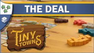 Nights Around a Table Tiny Towns board game The Deal video thumbnail