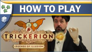 Nights Around a Table How to Play Trickerion: Legends of Illusion board game video thumbnail
