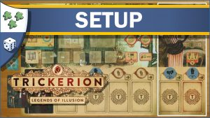 Nights Around a Table How to Set Up Trickerion: Legends of Illusion board game video thumbnail