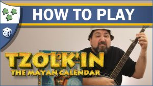 Nights Around a Table How to Play Tzolk'in: The Mayan Calendar board game video thumbnail