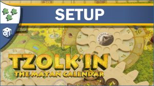 Nights Around a Table How to Set Up Tzolk'in: The Mayan Calendar board game video thumbnail