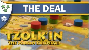Nights Around a Table Tzolk'in: The Mayan Calendar board game The Deal video thumbnail