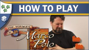 Nights Around a Table How to Play The Voyages of Marco Polo board game video thumbnail