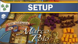 Nights Around a Table How to Set Up The Voyages of Marco Polo board game video thumbnail