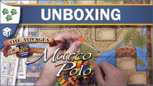 Nights Around a Table The Voyages of Marco Polo board game unboxing video thumbnail